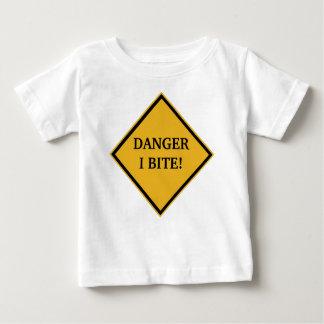 DANGER: I BITE! BABY T-Shirt