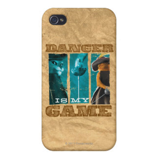 Danger Is My Game iPhone 4/4S Case