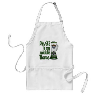 Danger Is My Middle Name Standard Apron