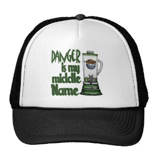 Danger Is My Middle Name Trucker Hat