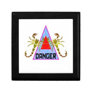 Danger Keepsake Boxes