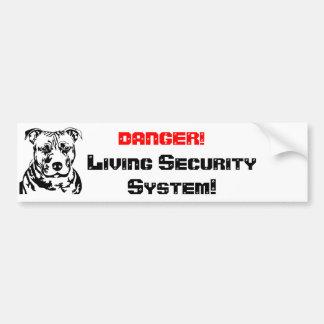 DANGER! , Living seconds… Bumper Sticker