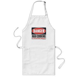 Danger Man Cooking. Long Apron