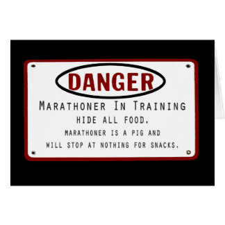 Danger Marathoner Card