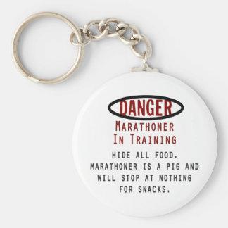 Danger Marathoner Keychain