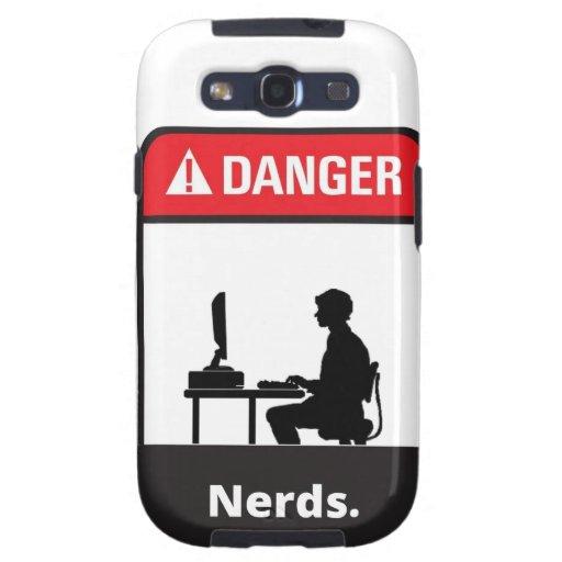 Danger Nerd Alert Samsung Galaxy S3 Cover
