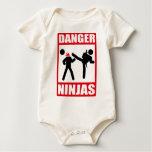Danger Ninjas Baby Bodysuits