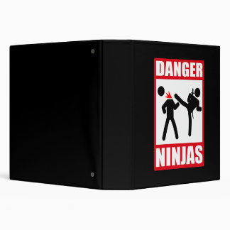 Danger Ninjas Classeurs 3 Anneaux