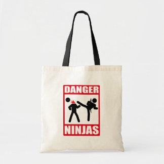 Danger Ninjas Sac En Toile Budget