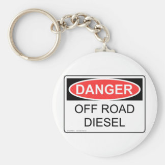 DANGER OFF ROAD DIESEL KEYCHAIN