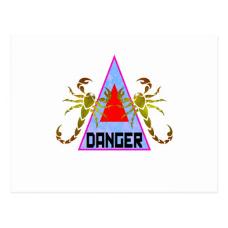 Danger Postcard