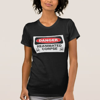 Danger Reanimated Corpse Babydoll Shirt