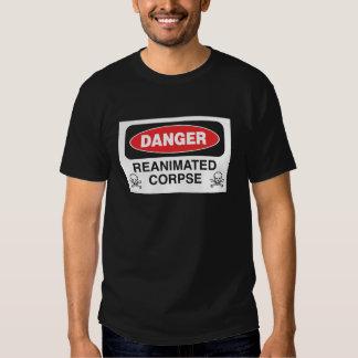 Danger Reanimated Corpse T-shirt