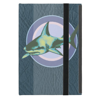 danger sharks, caution iPad mini case
