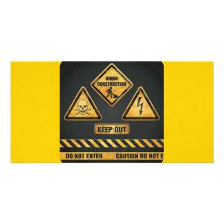 Danger Signs (7) garcya Photo Card Template