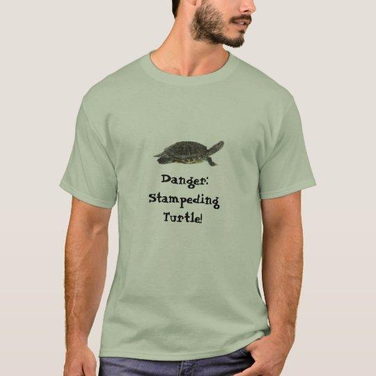 Danger: Stampeding Turtle T-Shirt