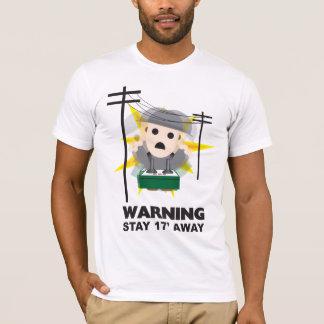 Danger - Stay 17' Away T-Shirt