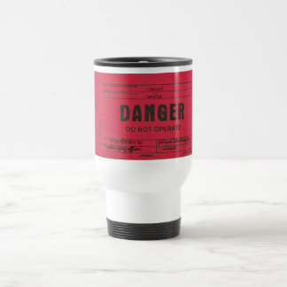 Danger Tag Customizable Coffee Mugs