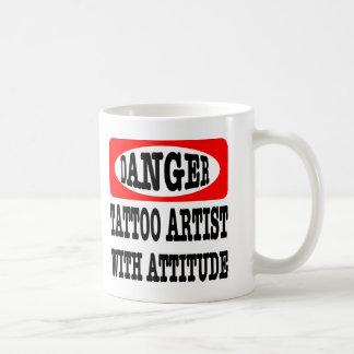 Danger; Tattoo Artist With Attitude Coffee Mug