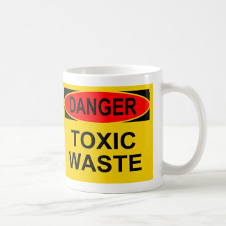 Danger Toxic Waste Coffee Mug