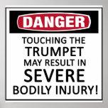 Danger Trumpet Poster