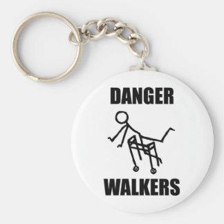 DANGER WALKERS keychain