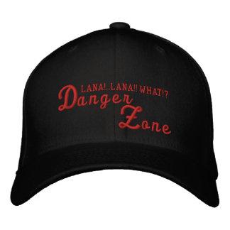 Danger Zone Red Archer Flexfit Embroidered Hat