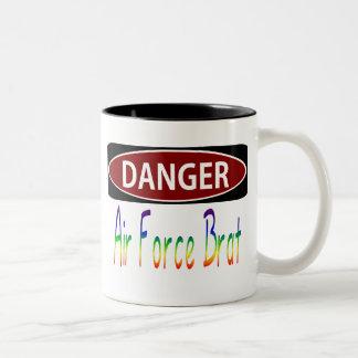 Dangerair Force Brat Two-Tone Coffee Mug