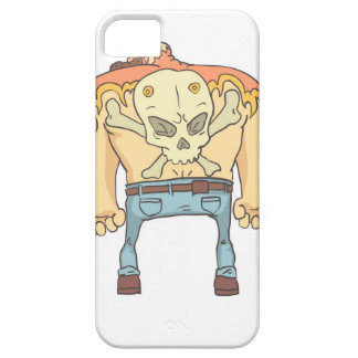 Dangerous Criminals Set Of Outlined Comics Style iPhone 5 Cover