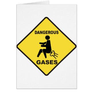 Dangerous Gases Card