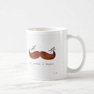 Dangerous Moustache Mug