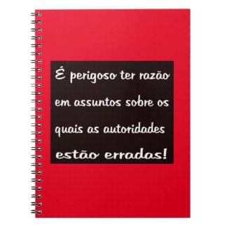 Dangerous Notebook