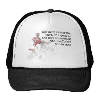 Dangerous Nut Quad Atv Off-Road Cap Hat