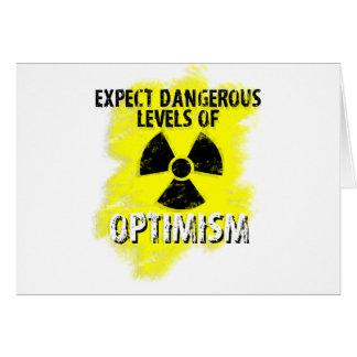 dangerous Optimism Card
