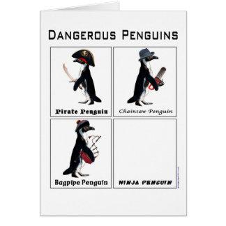 dangerous penguins card