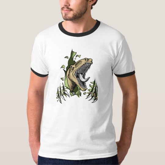 Dangerous Raptor Dinosaur Shirt