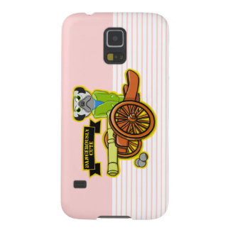 Dangerously Cute Pug Galaxy S5 Cover