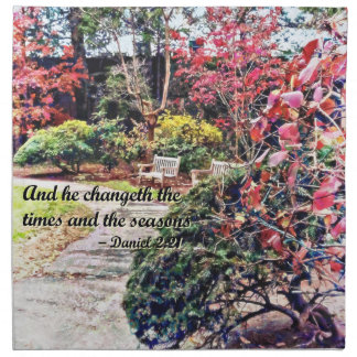 Daniel 2:21 - And he Changeth Napkin