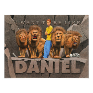 Daniel and The Lion's Den - Boy Poster