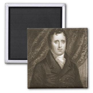 Daniel D. Tompkins (1774-1825) engraved by Thomas Square Magnet