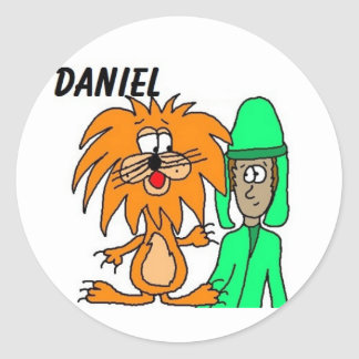Daniel In The Lion's Den Stickers
