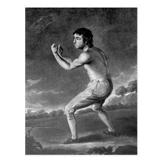 Daniel Mendoza, engraved by Henry Kinsbury, 1789 Postcard
