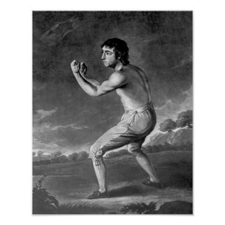Daniel Mendoza, engraved by Henry Kinsbury, 1789 Print