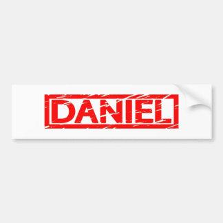 Daniel Stamp Bumper Sticker