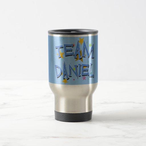 DANIEL Team Daniel Coffee Mugs