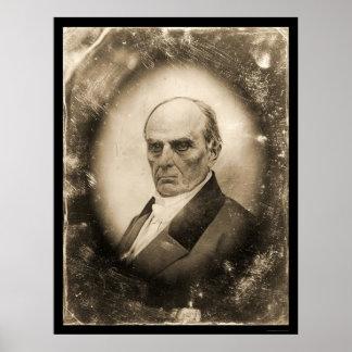 Daniel Webster Daguerreotype 1845 Poster