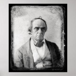 Daniel Webster Daguerreotype 1852 Poster