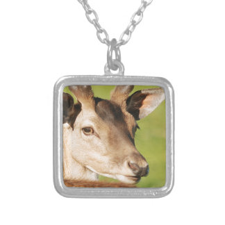 Daniel young smart wild animal silver plated necklace
