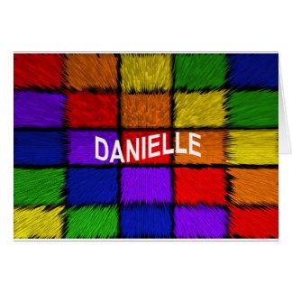 DANIELLE CARD