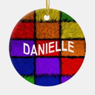 DANIELLE CERAMIC ORNAMENT